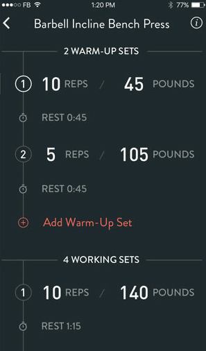 Fitbod Weight Lifting Workout app